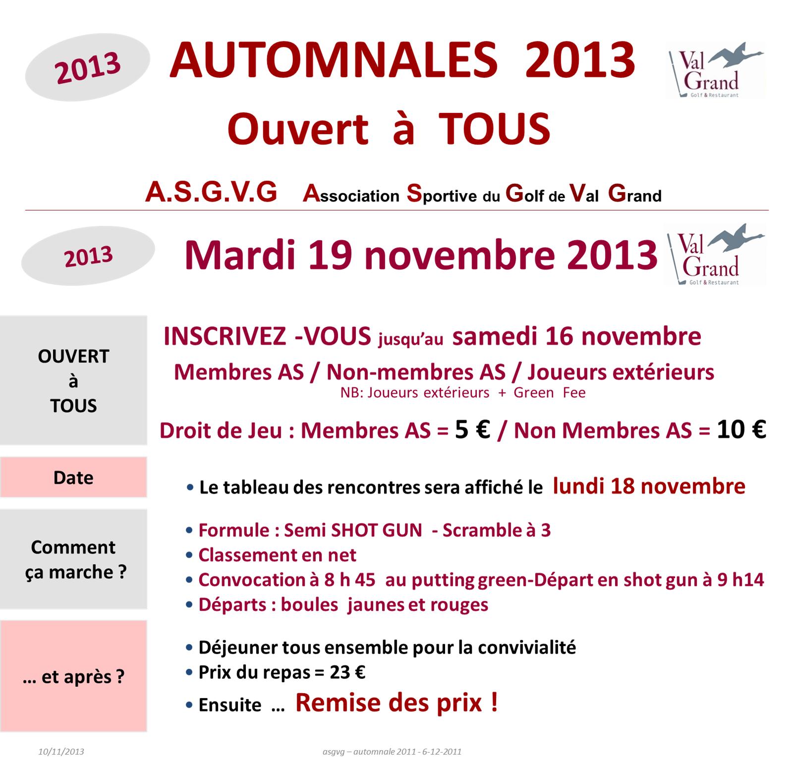 Automnales 19-11-2013